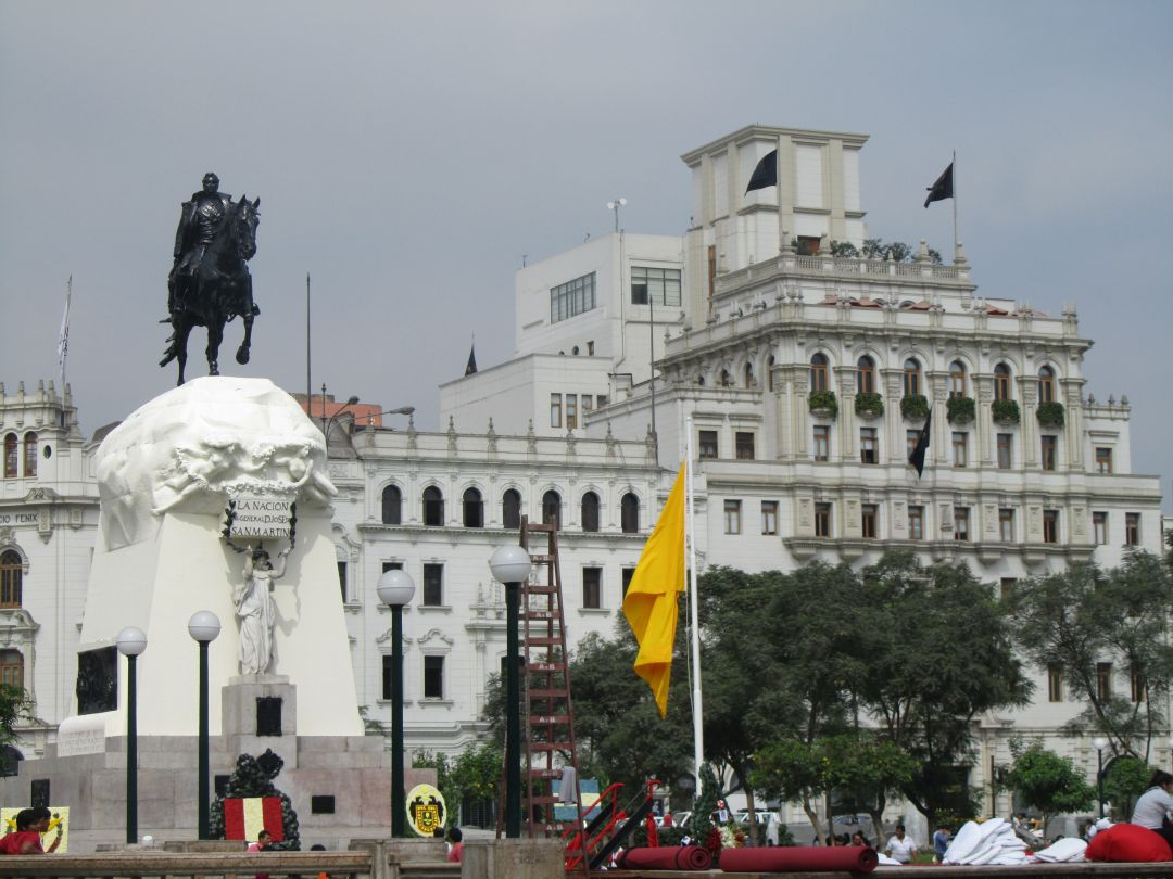 Hermosa Plaza San Martin. Beautiful Plaza San Martin. Photo credit, placeOK