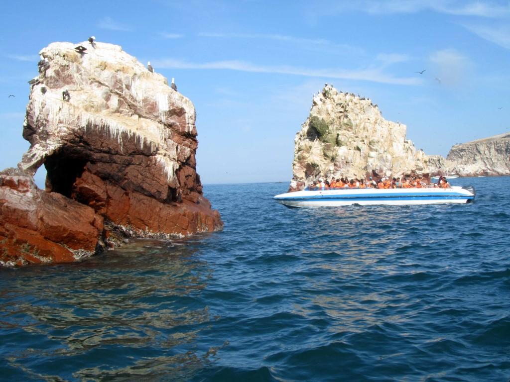 Islas Ballestas Paracas Ica