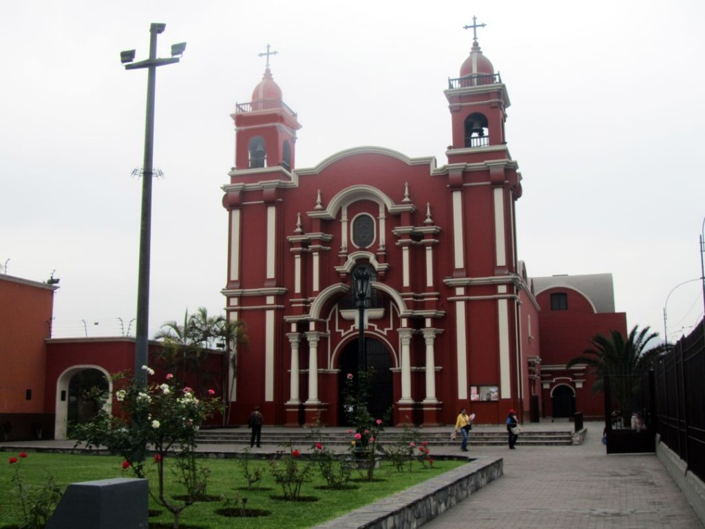 Iglesia y convento. Church and convent. Santa Rosa, Lima, Perú Photo credit, placeOK
