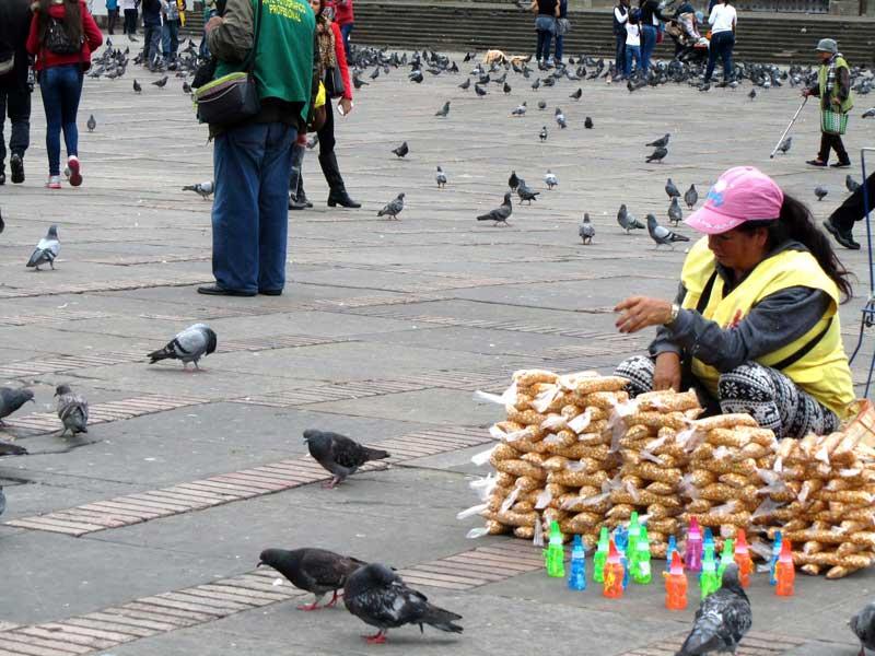 plaza de simon bolivar bogota