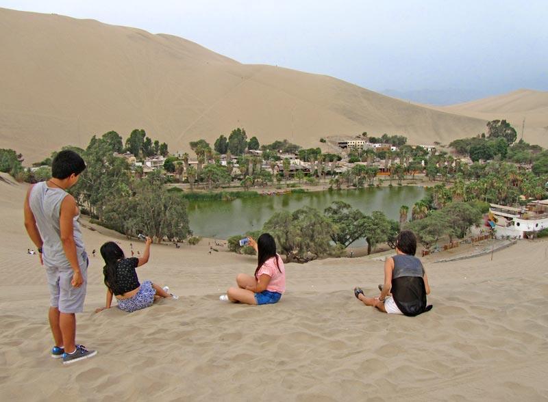 oasis Huacachina Ica
