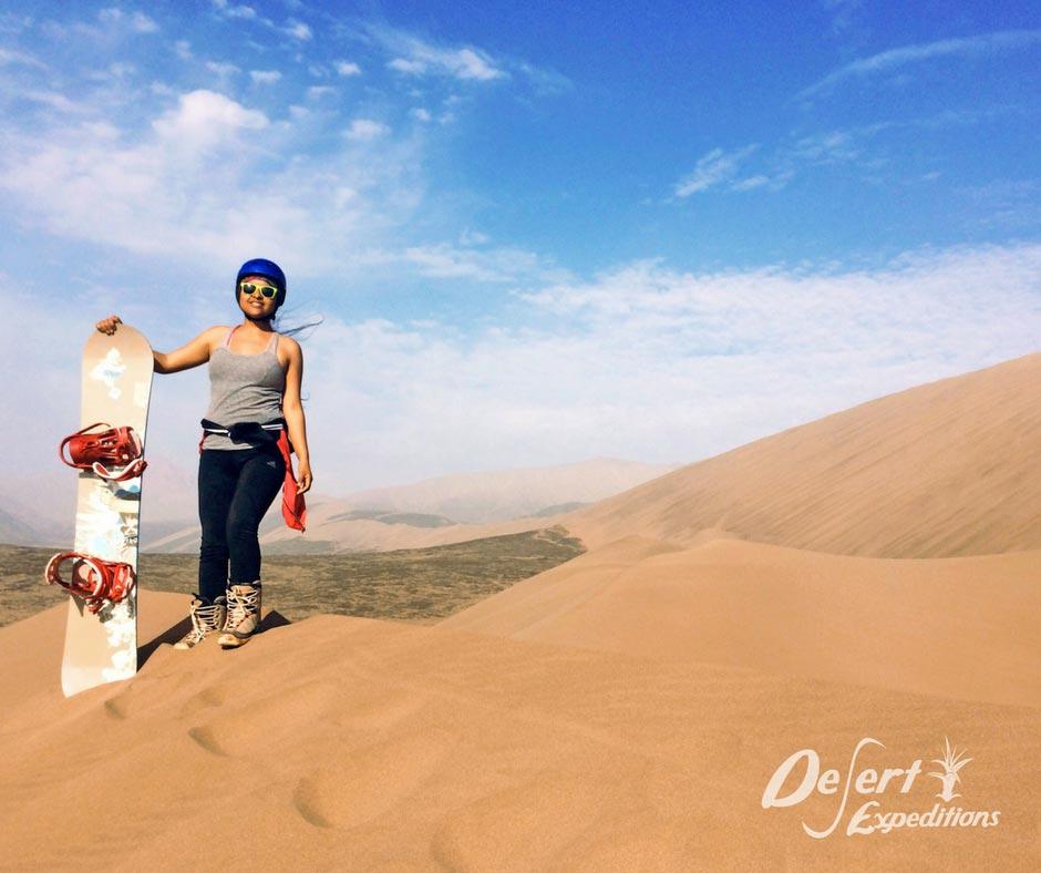 dónde practicar sandboard en Perú