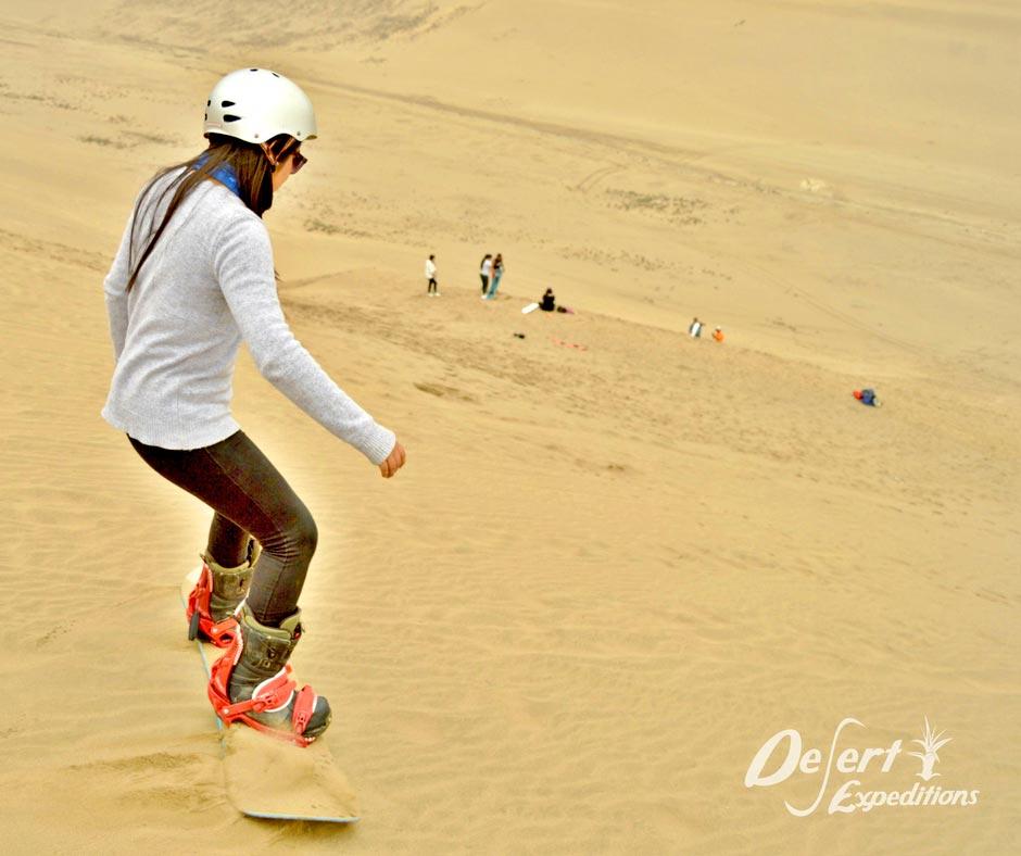 sandboard en Perú