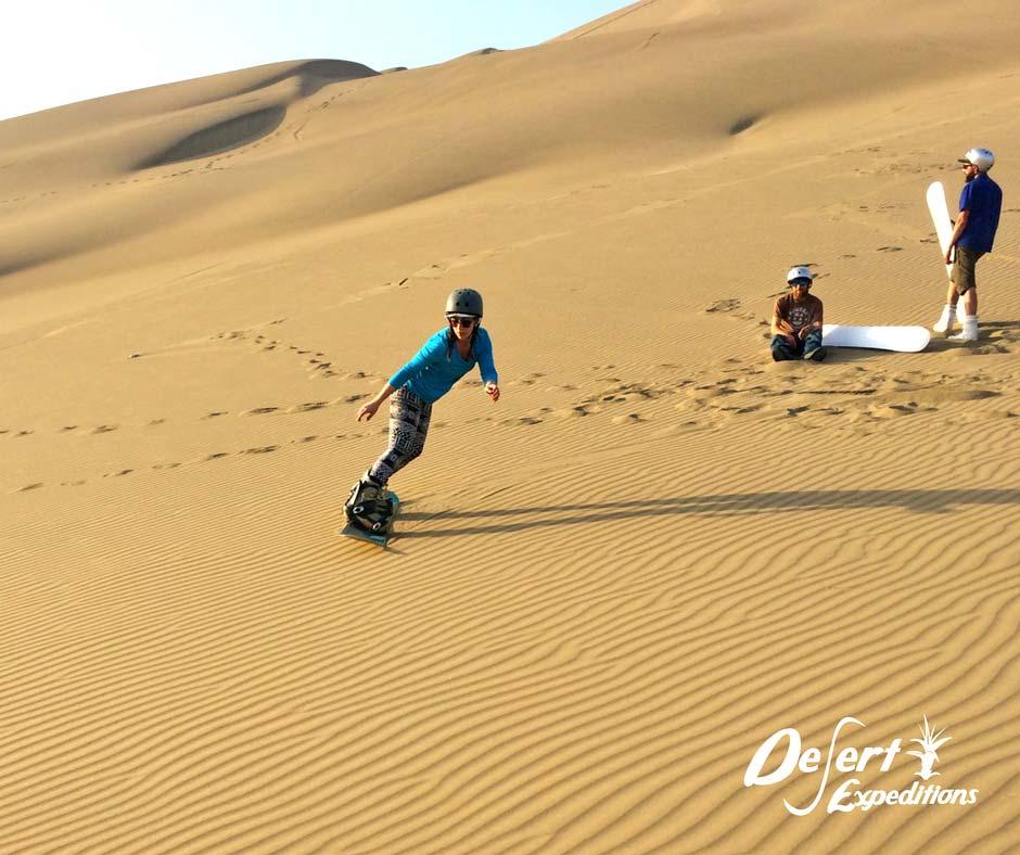 sandboard en el Perú